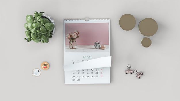 maquette calendrier plat decoratif 23 2148174765